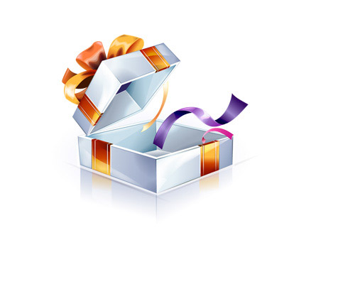 礼物盒蝴蝶结的系法图解