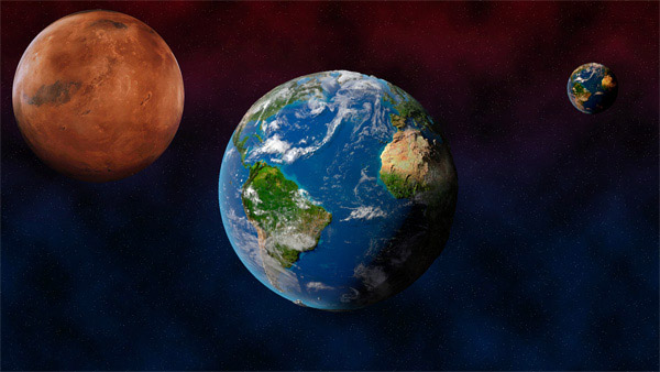素材分类: 自然风景所需点数: 0 点 关键词: 宇宙星球psd分层设计