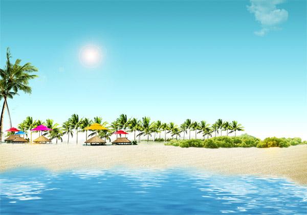 热带海边风景