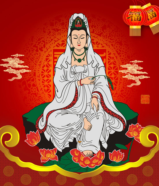 Buddhism Kwan-Yin bodhisattva