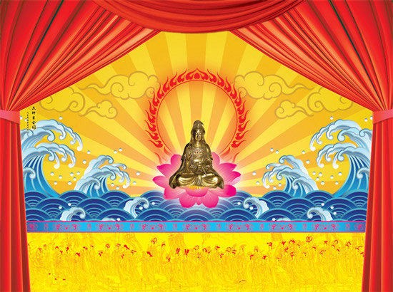 Buddha shines