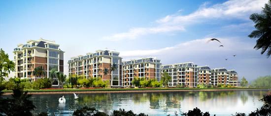 Lakeside real estate landscape