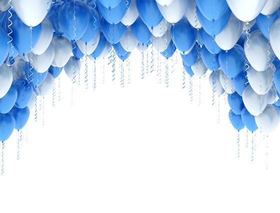 �情图片_双色气球图片