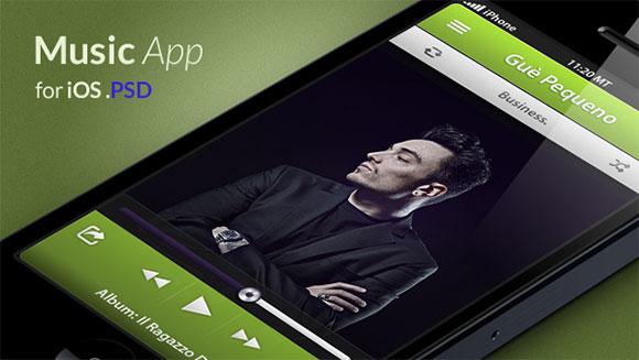 IOS music application