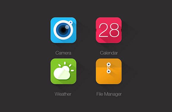 图标所需点数: 0 点 关键词: 应用图标,相机,日历,天气,文件,icon图片