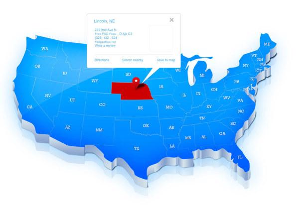 美国地图_素材中国sccnn.com