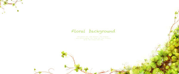韩国素材,tua,花朵,花卉,绿叶,植物,绿色,叶子,藤蔓,花藤,边框 下载