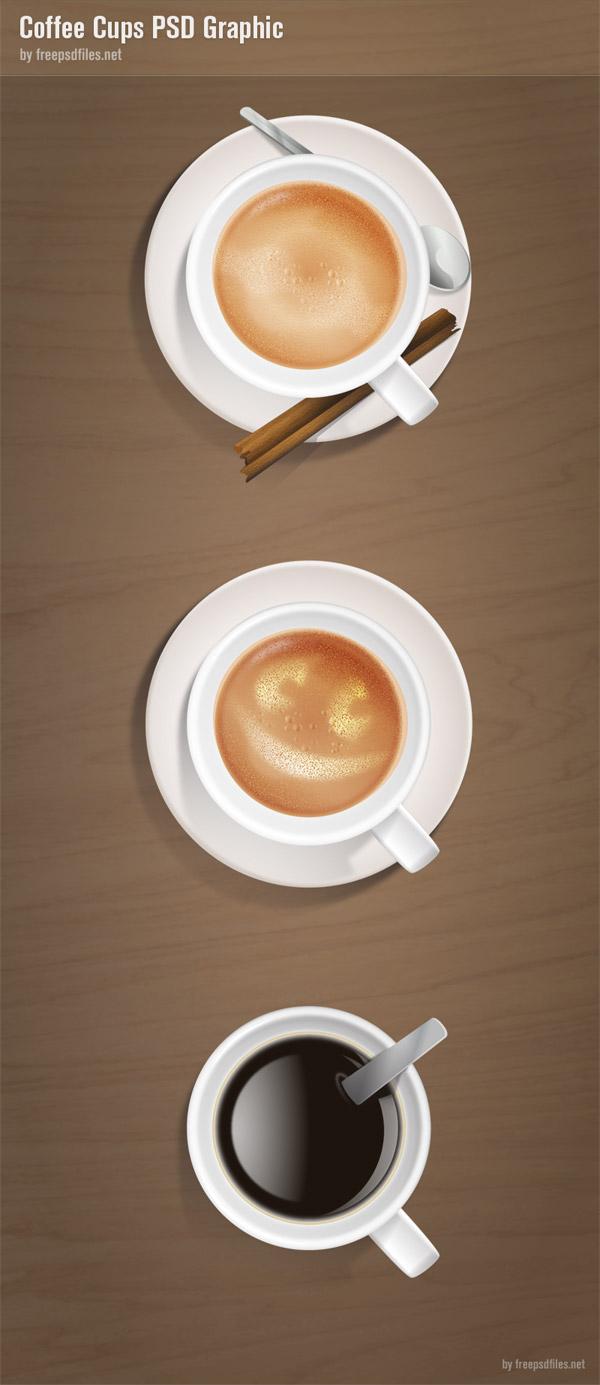 三色咖啡设计