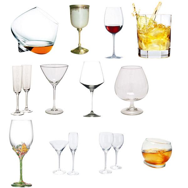 分层玻璃酒杯