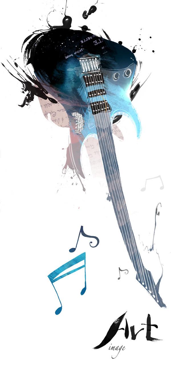 素材分类: 创意元素所需点数: 0 点 关键词: 吉他模板下载,炫酷吉他