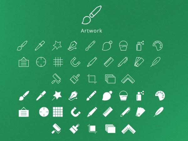 0 点 关键词: 208个精简图标,笔,电话,定位,信息,短信,icon,psd格式图片