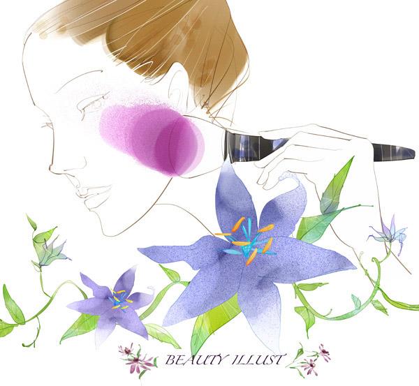 简单唯美花花朵素描步骤