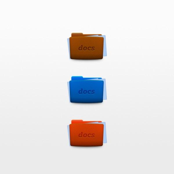 0 点 关键词: 文件夹图标psd分层素材,皮革纹理,文件夹,图标,icon