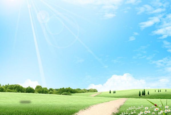 清新绿色风景