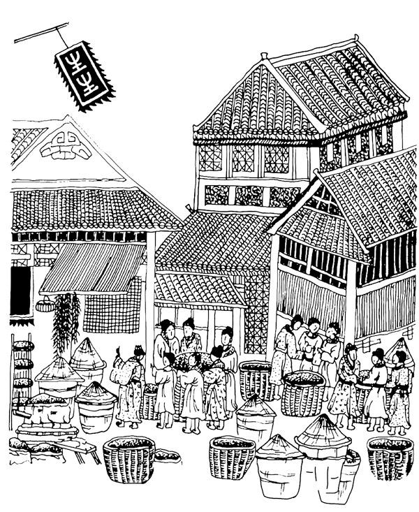 中国古代商业结构图