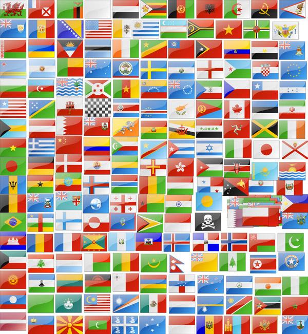 世界各地国旗