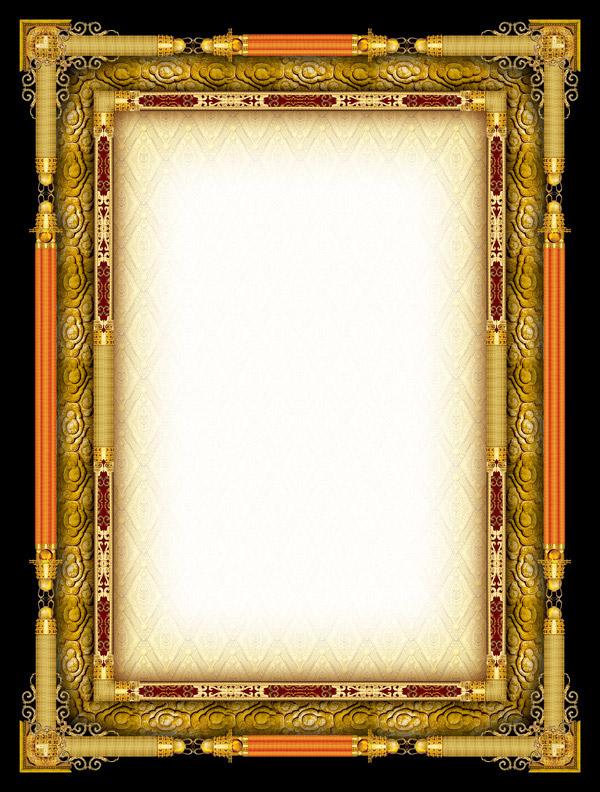 ppt 背景 背景图片 边框 模板 设计 相框 600_792 竖版 竖屏