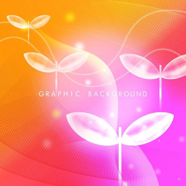 水晶桌面壁纸高清_水晶叶子背景