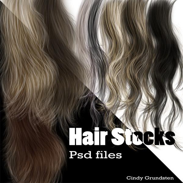 创意素描短头发的画法步骤图