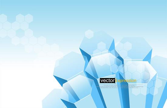 立体蜂巢图案psd分层模板,设计元素,立体创意元素,图案,蜂巢设计