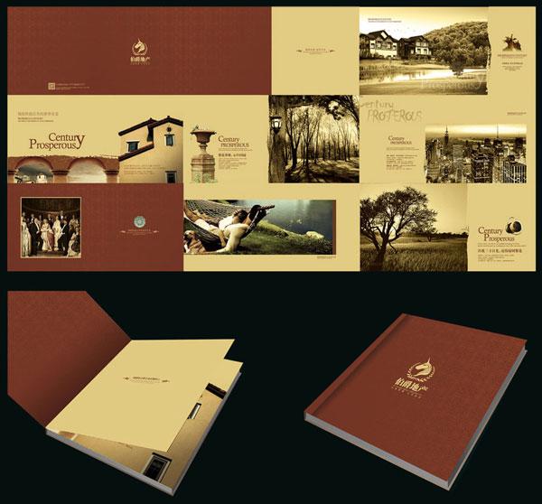高档画册,公司彩页,奢华楼书,大气楼书,宣传册,欧式风格,骑士,花园,江