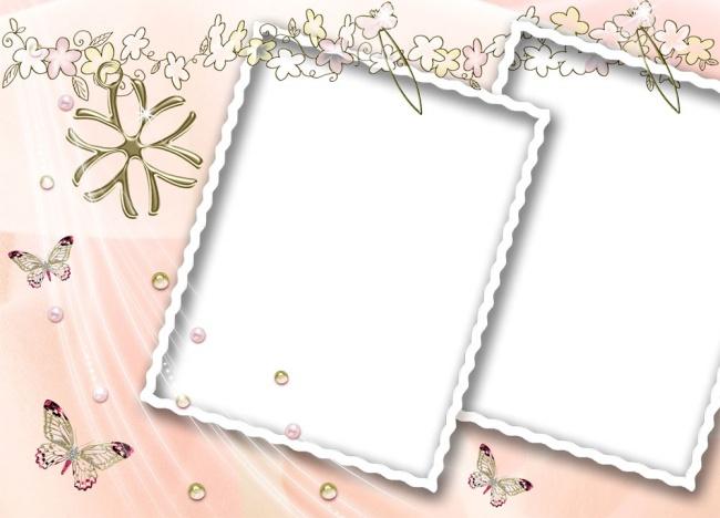 相框模板,写真模板,相册模板,psd模板,儿童相册,相框,可