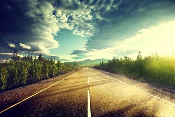 梦想中,通往世界的路面,道路,风景,马路风景,公路风景,美丽风景,美景