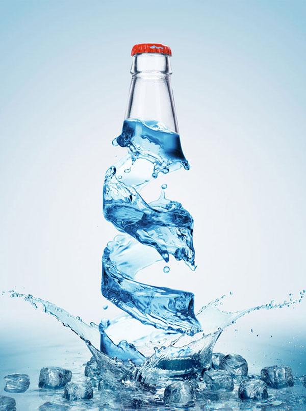 水组合矿泉水瓶