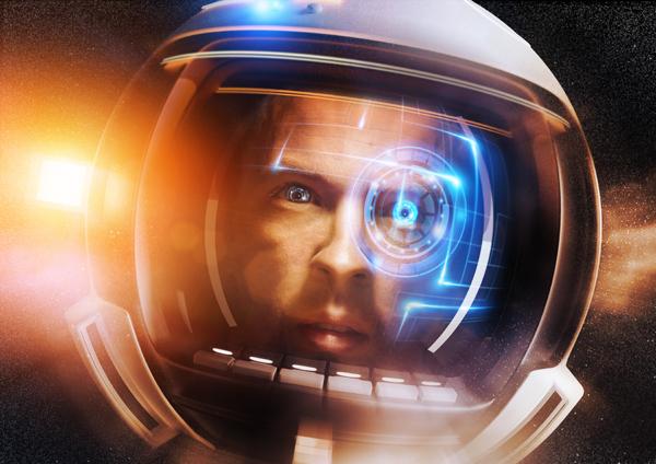 飞行的宇航员