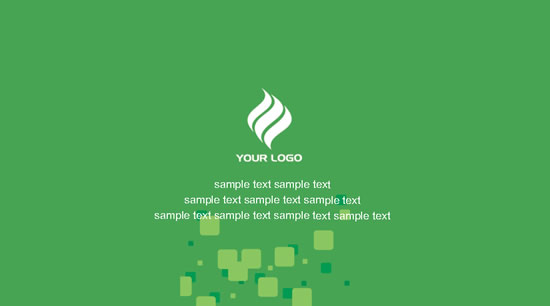 绿色简约名片,绿色背景,商业名片,名片设计,名片样片,名片底板图片