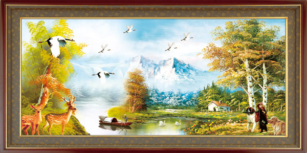 绘画艺术所需点数: 0 点 关键词: 油画装饰psd分层素材,欧式边框