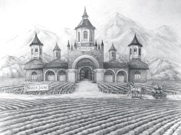 法国红酒庄园图图片,法国