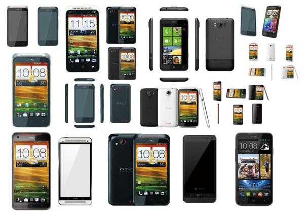 HTC手机模型