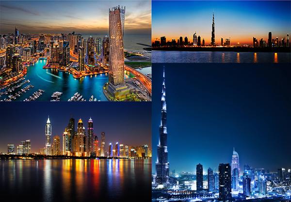 迪拜著名建筑_素材中国sccnn.com