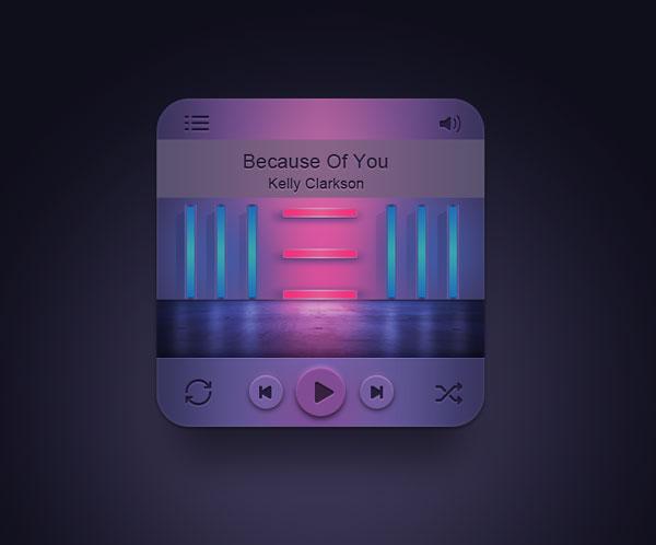 音乐播放器界面图片