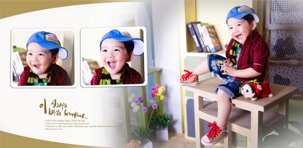 11月儿童相册模板,儿童相册模板,宝宝相册模板,儿童摄影模板,儿童相册