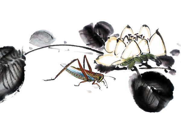 0 点 关键词: 蟋蟀水墨画免费下载,黑色叶子,树枝,水墨画,蟋蟀,淡