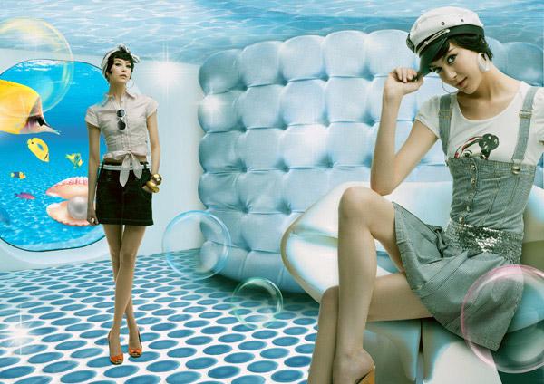 时尚时装模特_素材中国sccnn.com图片