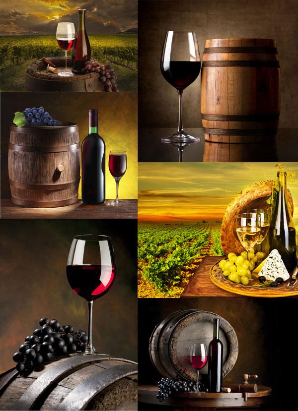 葡萄酒高清图片