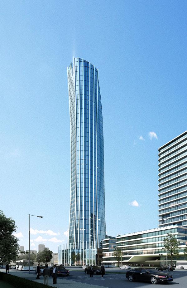 高楼大厦外观效果