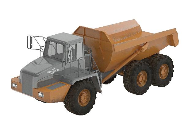 工程车模型_工程车3d模型_素材中国sccnn.com
