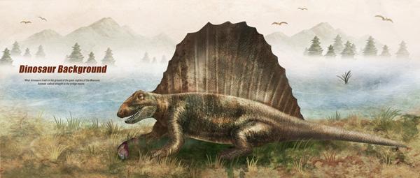 吃鱼的恐龙