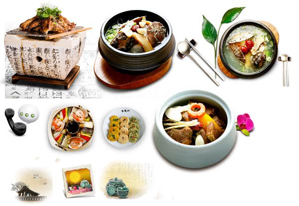 韩国美食素材