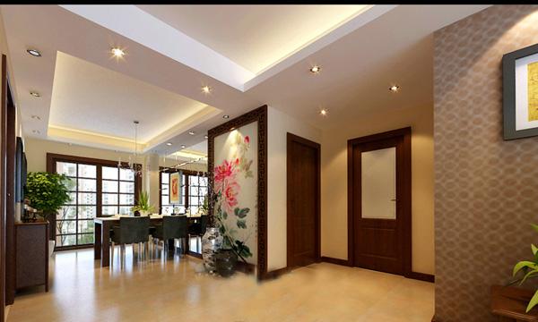 新中式室内效果图_素材中国sccnn.com图片