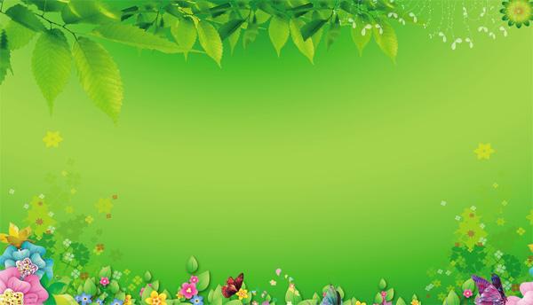 春天海报背景