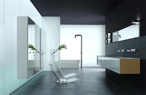 s时尚浴室模型