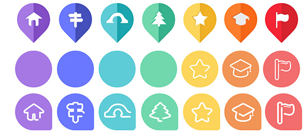 0 点 关键词: 精美彩色图标psd分层素材,糖果色图标集合,圆形图标,精