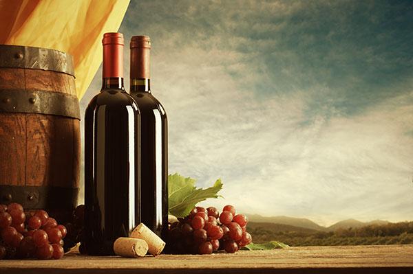 古典欧式葡萄酒图片,红酒葡萄酒