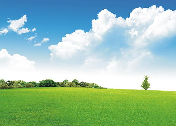 高清蓝天白云草地背景图片下载,蓝天,白云,草地,森林,山,树木,绿色
