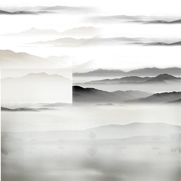 水墨山水画背景